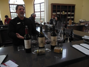 On the day we visited Will was pouring wine for us and giving us interesting information about the winery.
