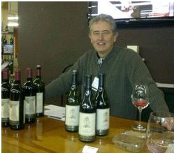 Ron Ventimiglia is the Friendly and Knowledgeable Wine-maker.