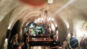 inside Kunde Cave
